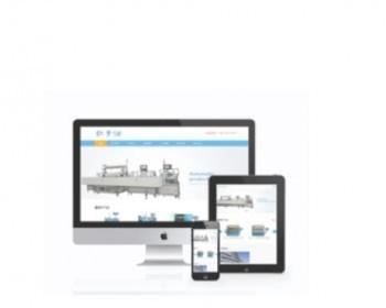 响应式工业重工机械类网站织梦模板(自适应设施)