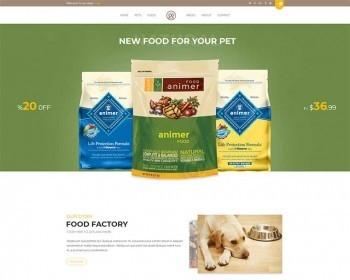 大气宽屏Bootstrap响应式宠物食品商城模板大气宽屏Bootstrap响应式宠物食品商城模板