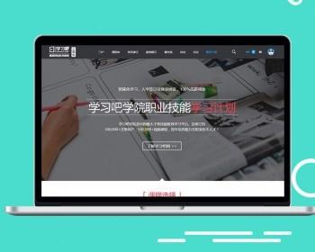 discuz模板教育课程职业培训4学习教程论坛网站模版的dz模板