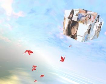 3D相册天空飞舞带音乐浪漫表白,个人创意表白网页源码送女友必备