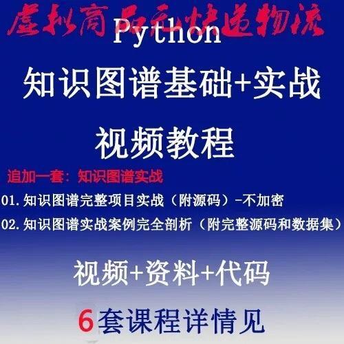 Python Neo4j人工智能知识图谱基础 项目实战视频教程