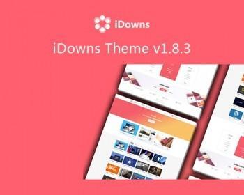 iDowns1.8.3 WordPress主题虚拟资源交易平台 支付宝微信免签约