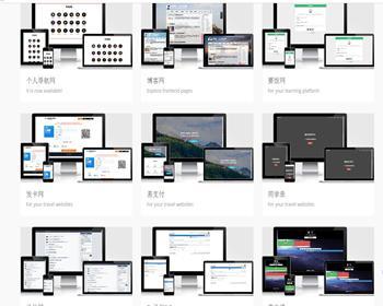 建站系统源码 可搭建各个各样的网站 假如不懂编程这系统不错的