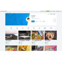 Discuz用户作品个人空间个人主页样式模板GBK商业版