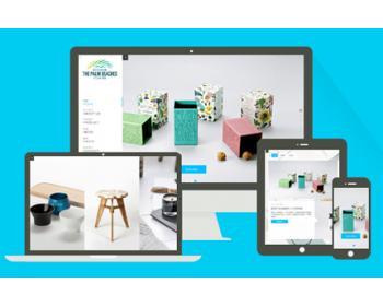高端产品包装设计作品展示类织梦模板(响应式带背景音乐)