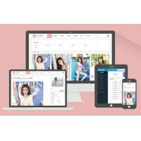 响应式美女图片素材下载网站模板图库资源分享网站(带会员带支付功能)