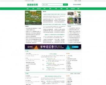 速递音乐网资讯新闻网站源码